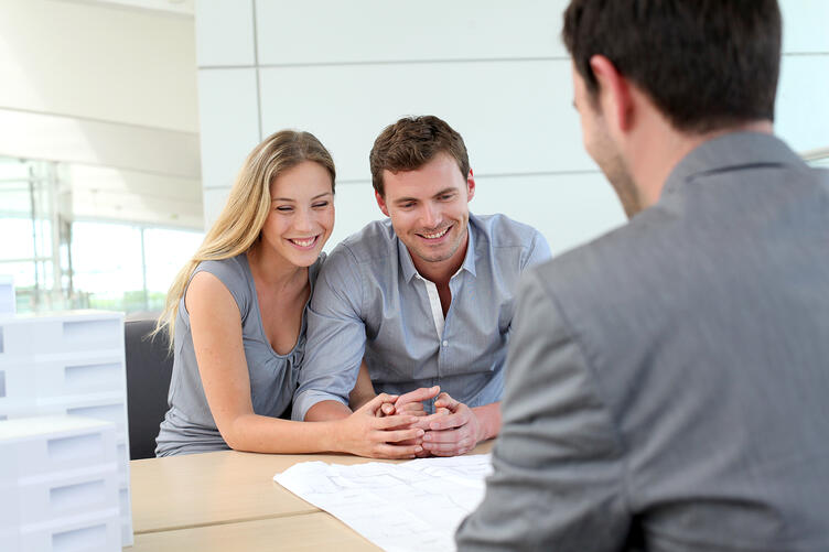 CoupleSpeakingWithAgent Become Landlords