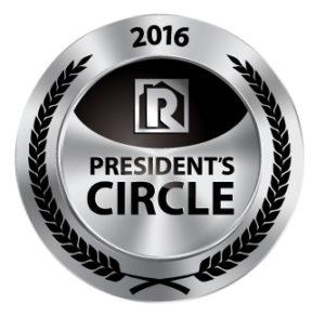 2016 President's Circle award, Property Management