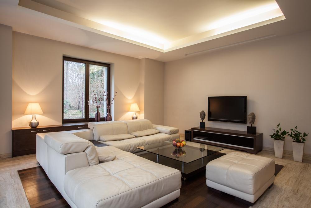 Travertine house View on bright,unusual living room Selma Rental Property