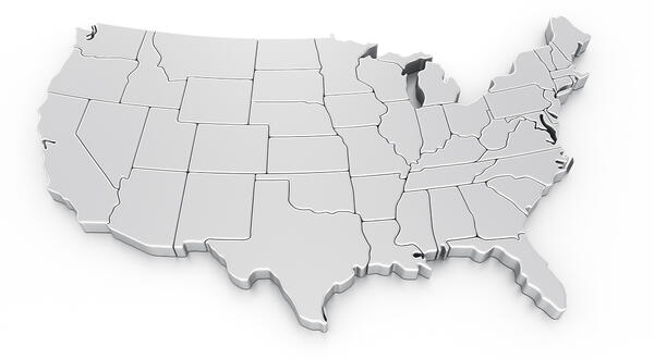 US map, Investing in properties